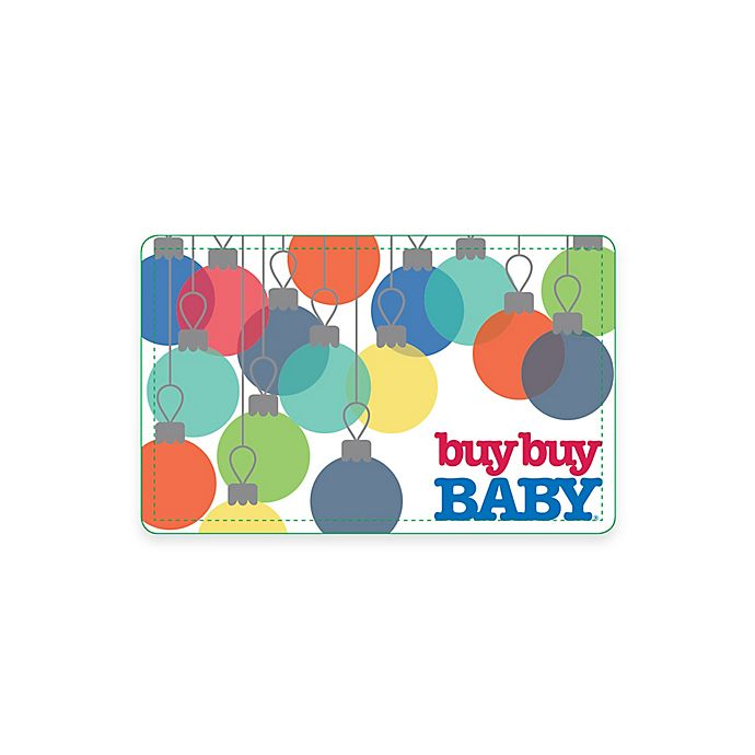 Alternate image 1 for Baby Ornaments Gift Card
