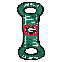 University of Georgia Pet Football Field Tug Toy