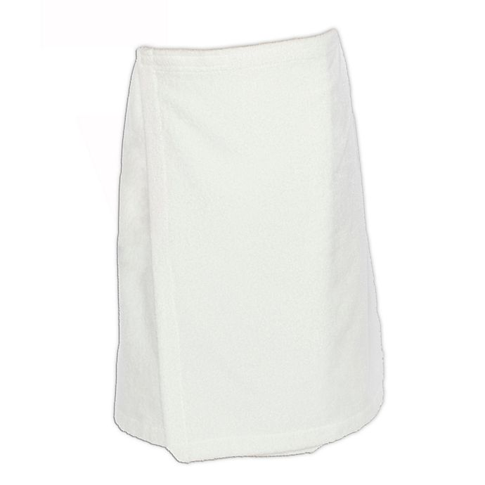 Alternate image 1 for Linum Home Textiles Women's Turkish Cotton Terry Body Wrap in White