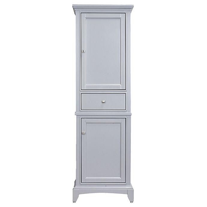 Alternate image 1 for Eviva Elite Stamford Linen Cabinet in Grey