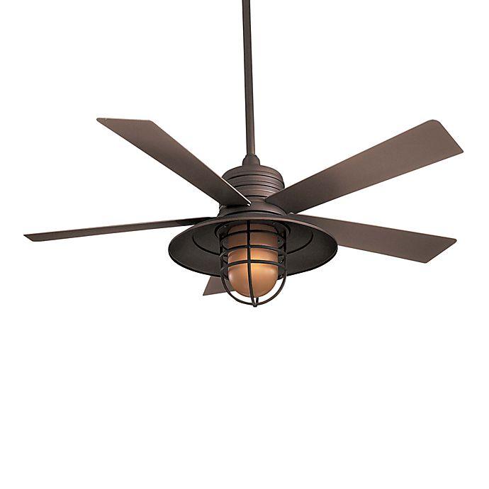 Minka Aire 174 Rainman 54 Inch Ceiling Fan Bed Bath Amp Beyond