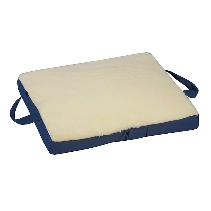 Alternate image 1 for DMI 18-Inch Reversible Gel/Foam Seat Cushion in Cream