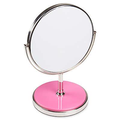 kate spade New York Pin Dot Vanity Mirror in Pink