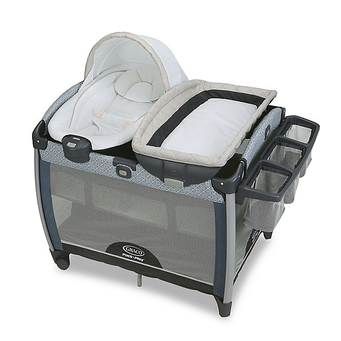 Alternate image 1 for Graco® Pack 'n Play Quick Connect Portable Bouncer with Bassinet Taylor™