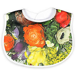 Raindrops Secret Garden Bib