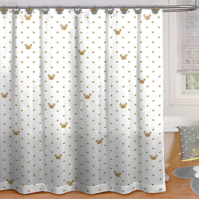 DisneyR Minnie Mouse Shower Curtain Collection