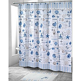 Avanti Island View Shower Curtain