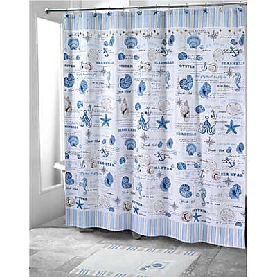 Avanti Island View Shower Curtain Collection