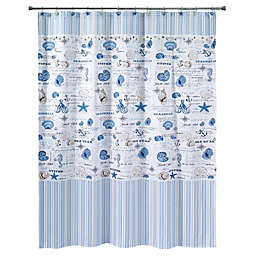 Avanti Island View 72-Inch x 96-Inch Shower Curtain