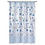 Avanti Island View 54-Inch x 78-Inch Shower Curtain