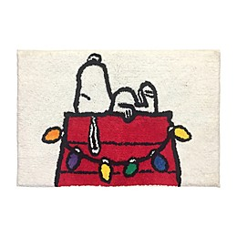 Peanuts™ Holiday Bath Rug