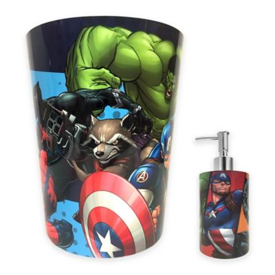 Marvel 174 Comics Bath Accessories Collection Bed Bath Amp Beyond