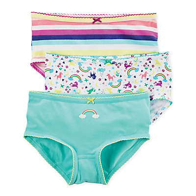 carter's® 3-Pack Rainbow Unicorn Panties