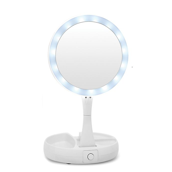 Alternate image 1 for My Foldaway Mirror in White