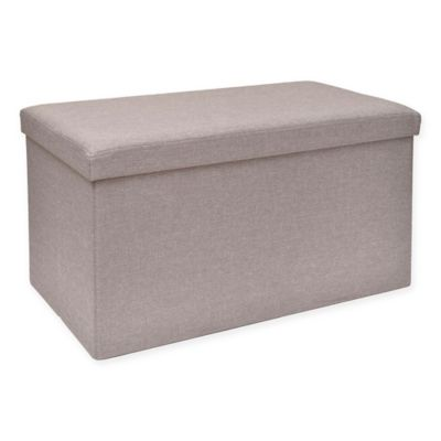 Studio 3b Folding Storage Bench With Tray Bed Bath Amp Beyond
