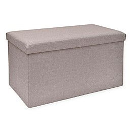 Studio 3B™ Folding Storage Bench with Tray