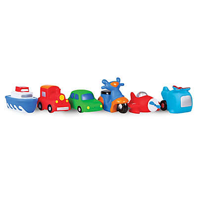 Waddle® Transportation 6-Pack Bath Squirties
