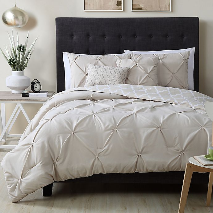 Alternate image 1 for Avondale Manor Madrid 5-Piece Queen Comforter Set in Taupe