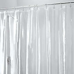 iDesign® Vinyl Shower Liner with Hooks