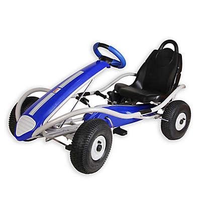Kettler® 47-Inch Dakar Racer Pedal Car in Blue/Silver