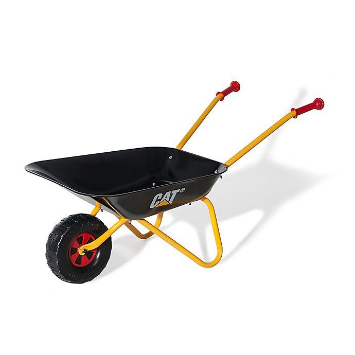 Alternate image 1 for CAT® 31-Inch Wheelbarrow in Yellow/Black