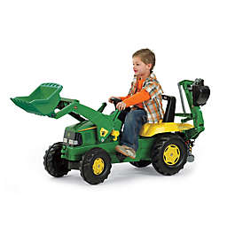 Kettler® John Deere Backhoe Loader in Green/Yellow