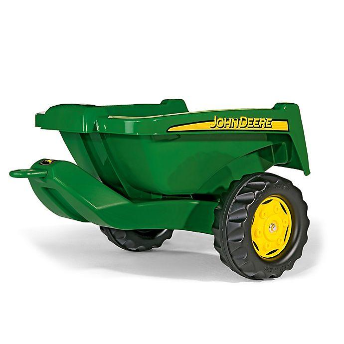 Alternate image 1 for Kettler® John Deere Tipper Trailer in Green/Yellow