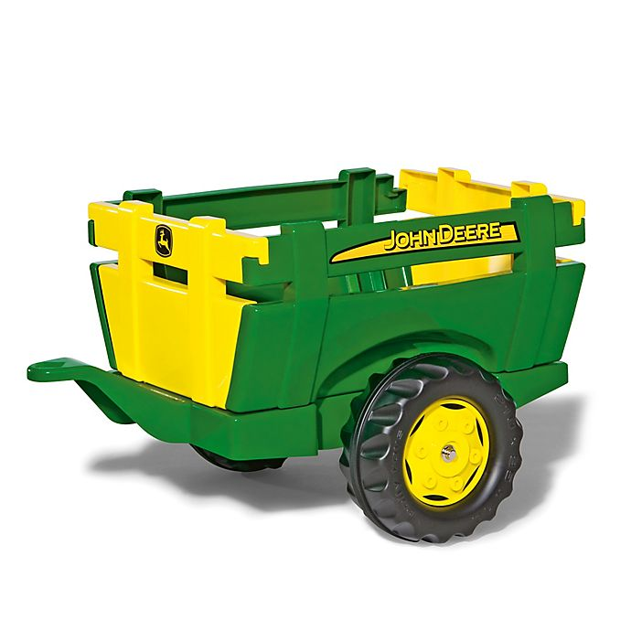 Alternate image 1 for Kettler® John Deere Farm Trailer in Green/Yellow