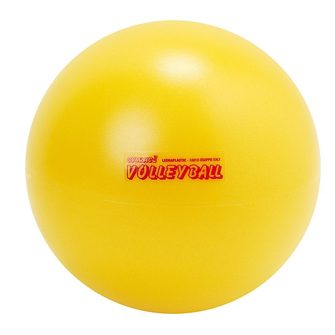Alternate image 1 for Gymnic® 8-Inch Softplay Volleyball in Yellow