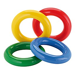 Gymnic® Gym Rings in Multi (Set of 4)