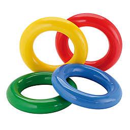 Gymnic® Gym Rings in Multi (Set of 4)
