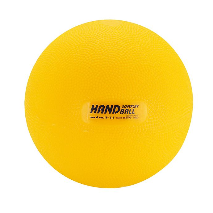 Alternate image 1 for Gymnic® 6.25-Inch Softplay Handball in Yellow