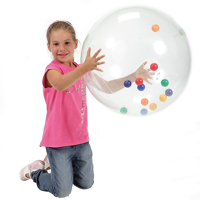 Alternate image 1 for Gymnic® 21-Inch Activity Ball in Clear