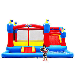 Blast Zone Misty Kingdom Bouncer, Ball Pit and Water Park