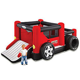 Blast Zone Rock Crawler Inflatable Bouncer and Ball Pit