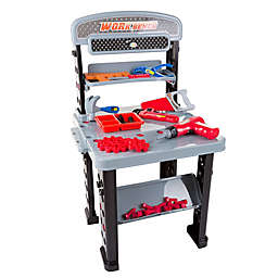 Hey! Play! 75-Piece Pretend Tool Set & Work Bench