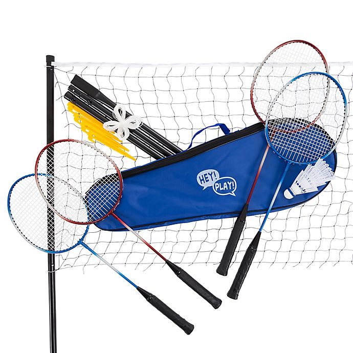 Alternate image 1 for Hey! Play! 14-Piece Badminton Set