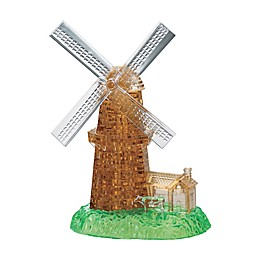 Puzzled® BePuzzled Windmill 64-Piece Original 3D Crystal Puzzle