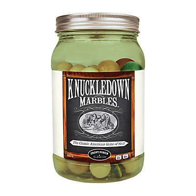 Front Porch Classics Knuckledown Marbles Game