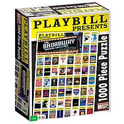 Endless Games Playbill Best of Broadway 1000-Piece Jigsaw Puzzle