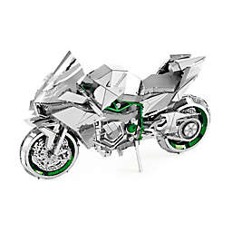 Fascinations ICONX Kawasaki Ninja H2R 3D Metal Model Kit