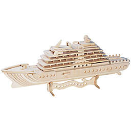 Puzzled Luxury Yacht 71-Piece 3D Wooden Puzzle