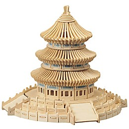 Puzzled Temple of Heaven 301-Piece 3D Wooden Puzzle