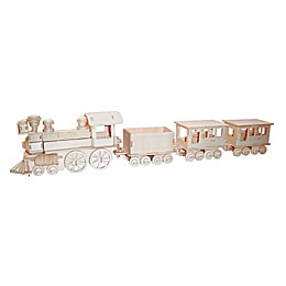 Puzzled Train 130-Piece 3D Wooden Puzzle