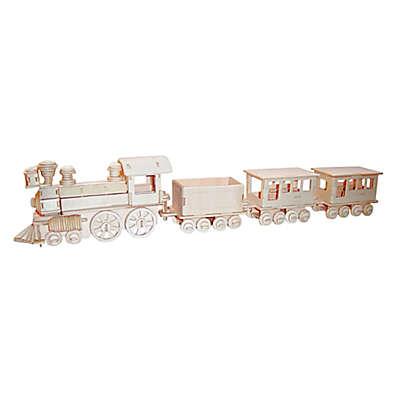 Puzzled Train 130-Piece 3D Wooden Puzzle