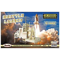 Puzzled Shuttle Launch 46-Piece 3D Wooden Puzzle