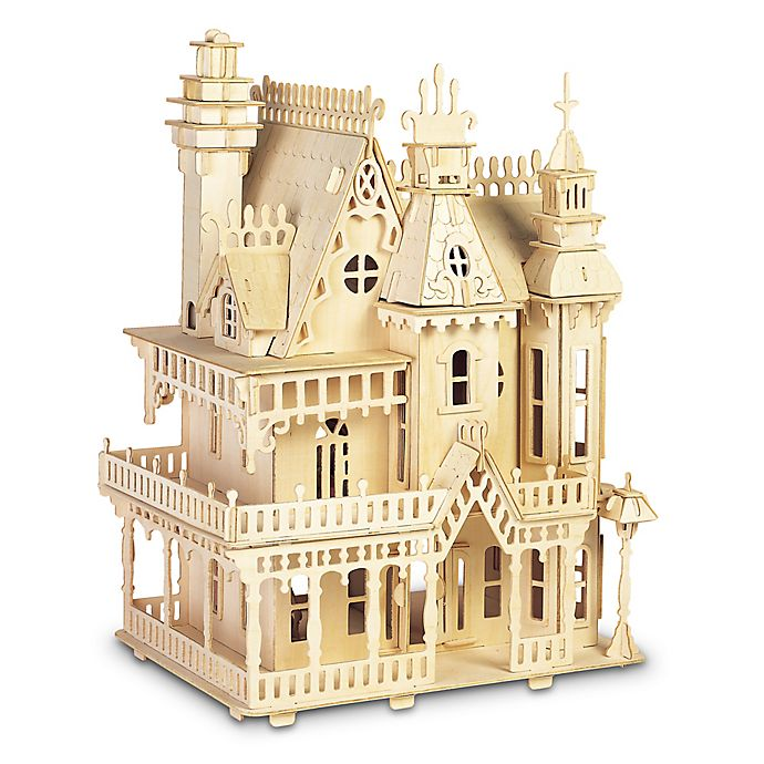 Alternate image 1 for Puzzled Fantasy Villa 238-Piece Wood Puzzle