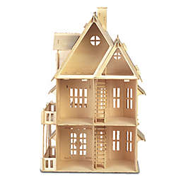 Puzzled Gothic House 161-Piece 3D Wooden Puzzle