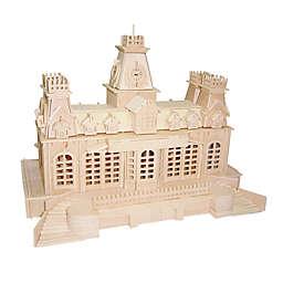 Puzzled Train Station 356-Piece 3D Wooden Puzzle
