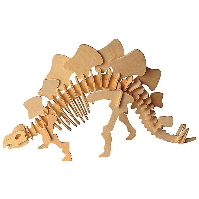 Puzzled Stegosaurus 51 Piece 3d Wooden Puzzle Bed Bath Beyond